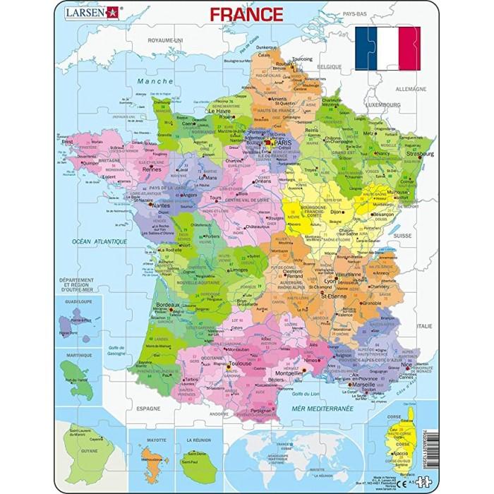 Frame Jigsaw Puzzle - France