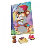 Larsen-CU1-2 Frame Puzzle - Cute Animals