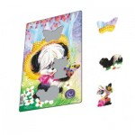 Larsen-CU2-1 Frame Puzzle - Cute Animals