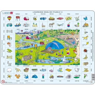 Larsen-EN4-GB Frame Puzzle - Learning English