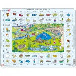 Larsen-EN4-GB Frame Puzzle - Learning English