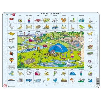 Larsen-EN4-NL Frame Puzzle - Learning English (in Dutch)