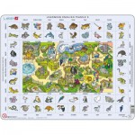 Larsen-EN5-GB Frame Jigsaw Puzzle - Learning English 5