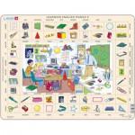 Larsen-EN6-GB Frame Jigsaw Puzzle - Learning English 6
