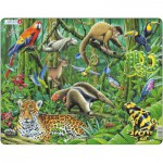Larsen-FH10 Frame Jigsaw Puzzle - South American Rainforest