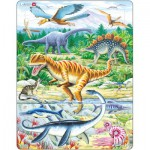 Larsen-FH16 Frame Jigsaw Puzzle - Dinosaurs