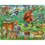 Larsen-FH24 Frame Jigsaw Puzzle - Jungle