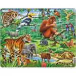 Larsen-FH24 Frame Jigsaw Puzzle - Jungle