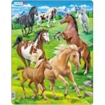 Larsen-FH38 Frame Puzzle - Horses