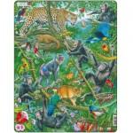 Larsen-FH41 Frame Puzzle - African Rainforest