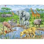 Larsen-FH9 Frame Jigsaw Puzzle - African Savannah