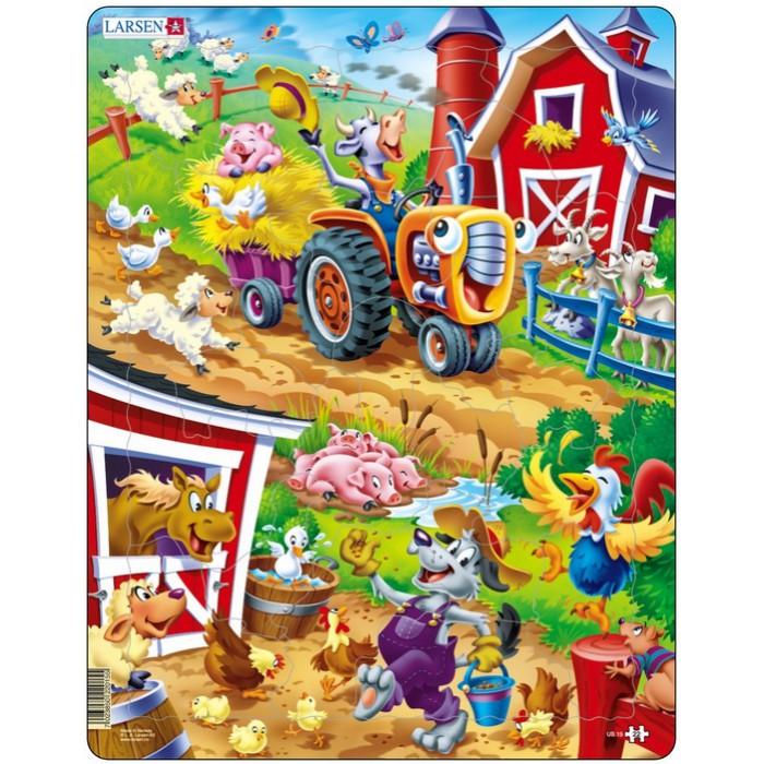 Frame Jigsaw Puzzle - Barnyard