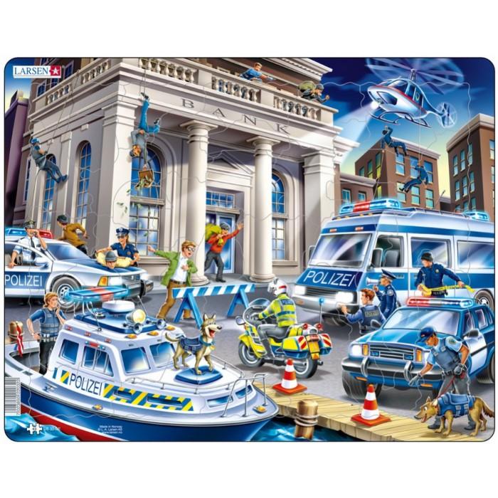 Frame Jigsaw Puzzle - Police