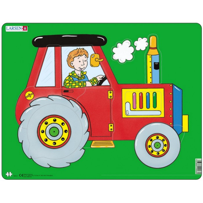 Frame Jigsaw Puzzle - Tractor
