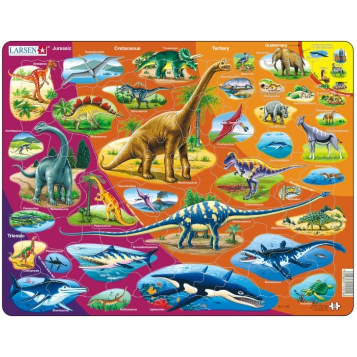 Frame Puzzle - Dinosaurs