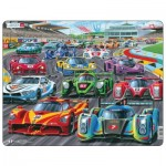 Frame Puzzle - Racing Cars