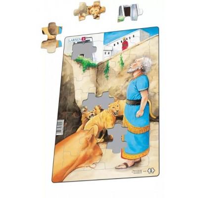 Larsen-G3-01 Frame Jigsaw Puzzle - Religious 1