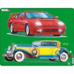 Larsen-GN2 Frame Jigsaw Puzzle - Cars
