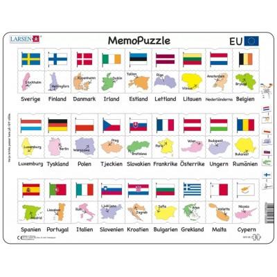 Larsen-GP2-SE Frame Puzzle - MemoPuzzle (in Swedish)