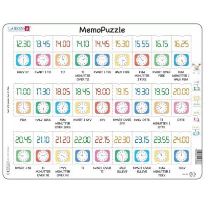 Larsen-GP5-DK Frame Puzzle - MemoPuzzle (in Danish)