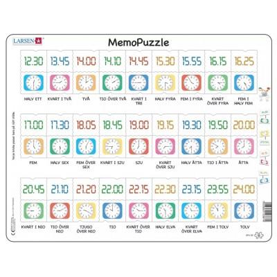 Larsen-GP5-SE Frame Puzzle - MemoPuzzle (in Swedish)