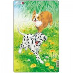Larsen-H19-1 Frame Jigsaw Puzzle - Dogs