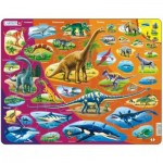 Larsen-HL1-GB Frame Puzzle - Dinosaurs