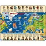 Larsen-HL2-DE Frame Jigsaw Puzzle - The Vikings