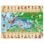 Larsen-HL4-GB Frame Jigsaw Puzzle - The Romans