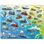Larsen-HL7-GB Frame Puzzle - Historical Vehicles