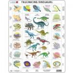 Larsen-HL9-GB Frame Puzzle - Dinosaurs