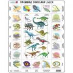 Larsen-HL9-NL Frame Puzzle - Dinosaurs (in Dutch)
