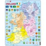 Larsen-K15 Frame Jigsaw Puzzle - Ireland Political