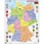 Larsen-K21-DE Frame Puzzle - Germany
