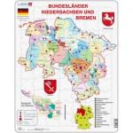Puzzle  Larsen-K27-DE Bundesland: Bremen and Niedersachen