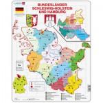 Puzzle  Larsen-K28-DE Bundesland: Hamburg and Schleswig-Holstein