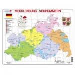 Larsen-K29-DE Frame Jigsaw Puzzle - Mecklenburg-Vorpommern
