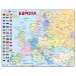 Larsen-K2W-RU Frame Jigsaw Puzzle - Europe (in Russian)