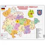Puzzle  Larsen-K33-DE Bundesland: Freistaat Thüringen