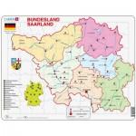 Puzzle  Larsen-K35-DE Bundesland: Saarland