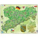 Puzzle  Larsen-K38-DE Bundesland: Sachsen