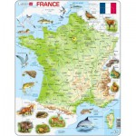 Larsen-K49-FR Frame Jigsaw Puzzle - France (in French)