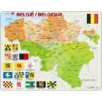 Larsen-K59 Frame Puzzle  - Belgium