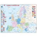 Larsen-K63-NL Frame Puzzle - Europa & Europese Unie (in Dutch)