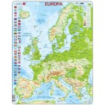 Larsen-K70-ES Frame Puzzle - Europe (in Spanish)