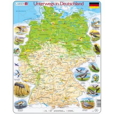 Puzzle Larsen-K72-DE Travelling in Germany (German)