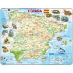 Larsen-K84-ES Frame Puzzle - Spain (in Spanish)
