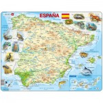 Larsen-K84 Frame Puzzle - Spain (in Spanish)