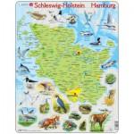 Puzzle  Larsen-K87-DE Schleswig Holstein / Hamburg