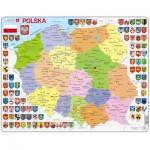 Larsen-K97 Frame Puzzle - Poland Political Map